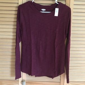 NWT Old Navy long sleeve crew neck top